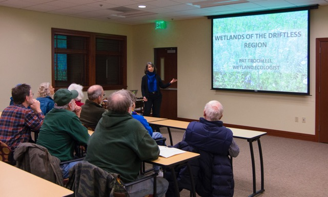 BMAP wetlands lecture photo credit Julie Raasch